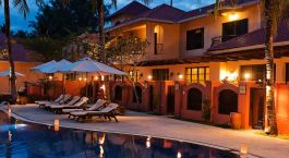 Pool at hotel Casa del Mar Langkawi, Langkawi, Malaysia