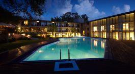 Exterior view of The Safari, Tissamaharama Hotel in Yala, Sri Lanka