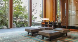 Lobby im Niwa Hotel in Tokio, Japan