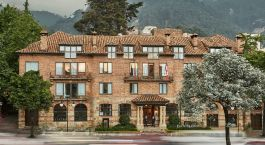 Exterior view of Four Seasons Casa Medina Hotel in Bogota, Colombia