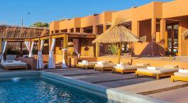 Pool im Noi Casa Atacama Hotel in San Pedro de Atacama, Chile