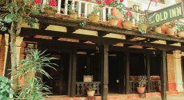 Außenansicht des The Old Inn in Bandipur, Nepal