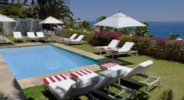 Pool at the Clarendon Bantry Bay in Cape Town, South Africa