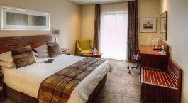 Double room at City Lodge Hotel OR Tambo International Airport in Johannesburg, South Africa