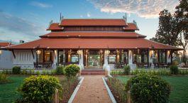 Exterior view of Restaurant at Sriwilai Sukhotai Resort & Spa in Sukhothai, Thailand