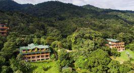 Außenansicht des Hotel Belmar in Monteverde, Costa Rica