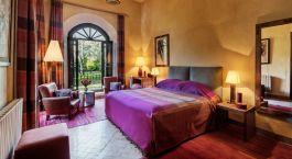 Doppelzimmer im Dar Zemora Hotel in Marrakesch, Marokko