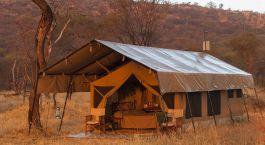 Tent - sleeping area at Ndutu Kati Kati Tented Camp in Senergeti (Southern), Tanzania
