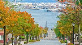 Enchanting Travels Japan Tours Hachiman-zaka slope in Hakodate Hokkaido Japan