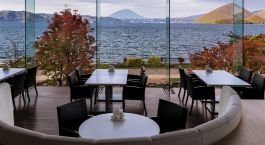 Enchanting Travels Japan Tours Lake Toya Hotels The Lake View Toya Nonokaze Resort interior 2