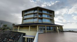 Enchanting Travels Japan Tours Kagoshima Hotels JR Hotel Yakushima deck