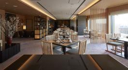 Executive lounge of Hotel Gajoen Tokyo, Japan