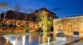 Pool im Hotel Bebek Tepi Ubud, Bali, Indonesien