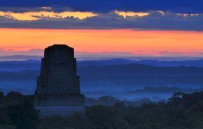 The Mayan ruins of Tikal National Park