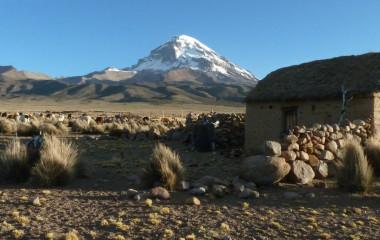 Bolivien abseits der Touristenpfade: Malerisches Sajama