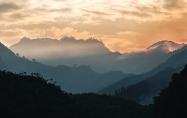 Enchanting Travels Guatemala Tours A sunset in Coban, Guatemala