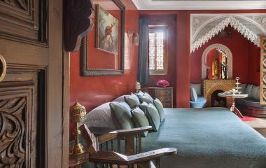 Double room at La Sultana Marrakech Hotel in Marrakech, Morocco