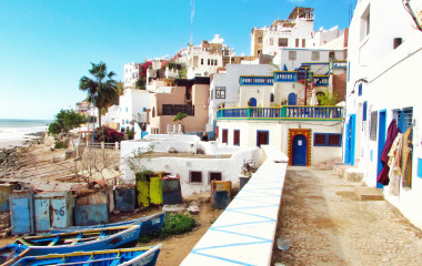 Seaside town, Morocco