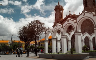 Enchanting Travels Bolivia Tours Center of the city of Potosi, Bolivia