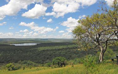 Der Lake Mburu in Uganda