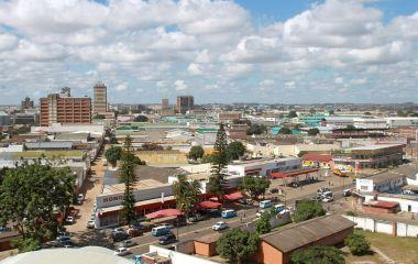 Lusaka ist eine der am schnellsten wachsenden Städte in Sambia