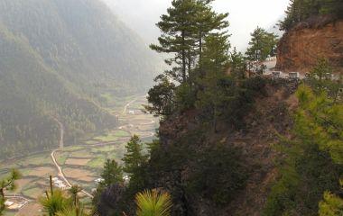 Gangtey Tal in Bhutan