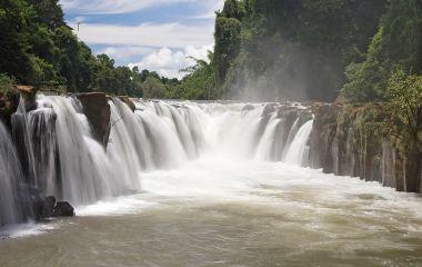 Wasesrfälle in Champasak, Laos