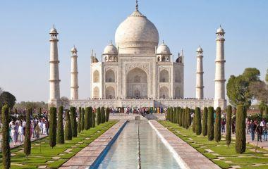 View of Taj Mahal, Agra