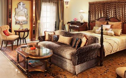 Zimmer im Hotel Rambagh Palace, Jaipur