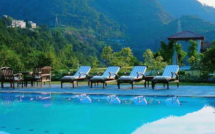 Anl with royal views at Ananda Spa in Rishikesh, The Himalayas