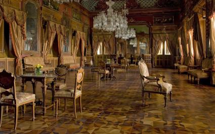 Essraum im Hotel Taj Falaknuma Palace