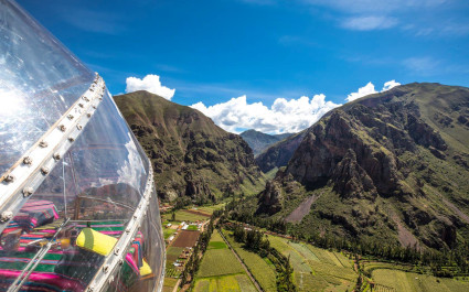 Glamping im Skylodge Adventure Suites, Heiliges Tal, Peru