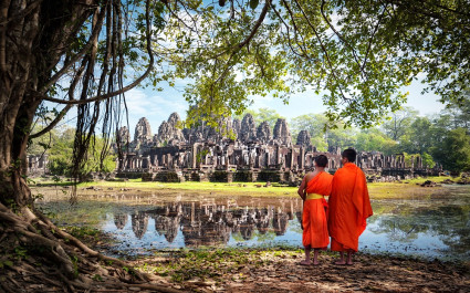 Bayon Temepl in Kambodscha