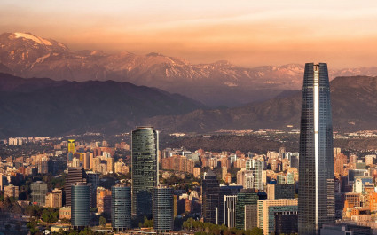 Skyline von Santiago