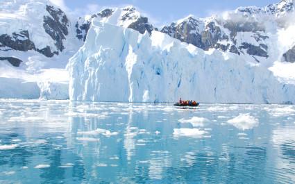Iceberg off coast of Antarctica vacation