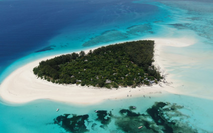 Visit Mnemba Island on your African islands trip