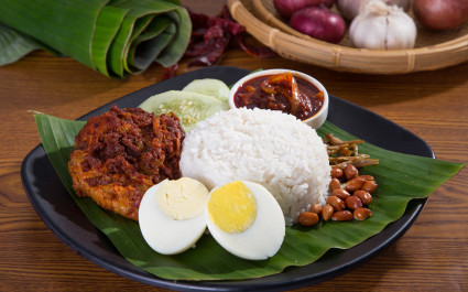 Enchanting Travels Asia Tours Cuisine in Malaysia Nasi Lemak