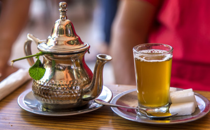 Mint tea - cuisine in Morocco