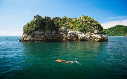 Snorkeling, Tortuga Island, Costa Rica