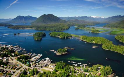 Aerial-image-of-Tofino-BC-Canada