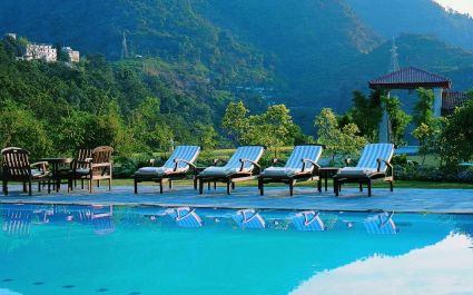 Anl with royal views at Ananda Spa in Rishikesh, The Himalayas