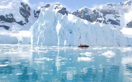 Iceberg off coast of Antarctica vacation