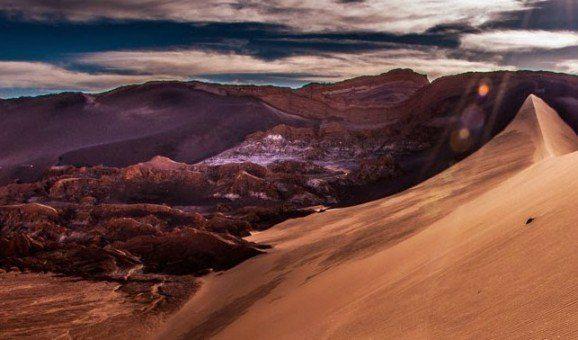 Highlight der Südamerika Tour - Die Atacama Wüste