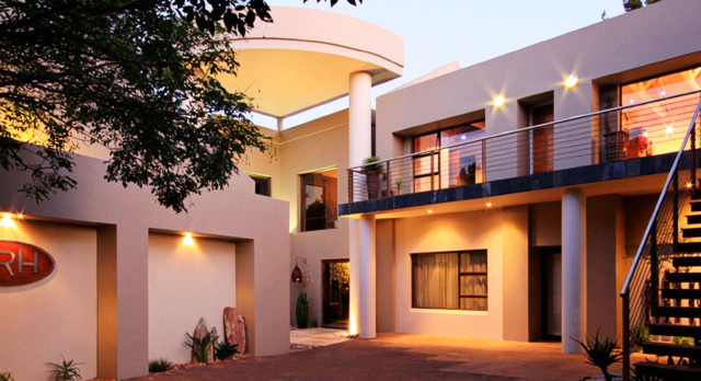 African Rock Hotel Exterior View Pretoria Johannesburg South Africa Tour