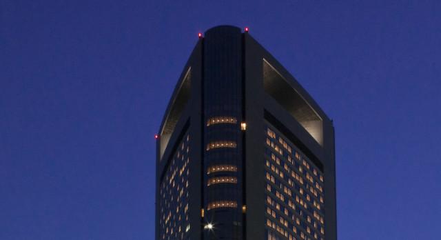 Exterior view at Park Hotel Tokyo in Tokyo, Japan