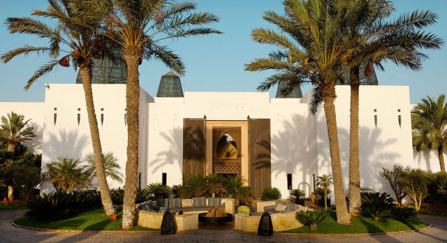 Exterior view of Sofitel Royal Bay in Agadir, Morocco