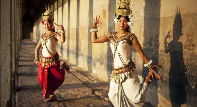 Ttraditional Khmer dance Cambodia