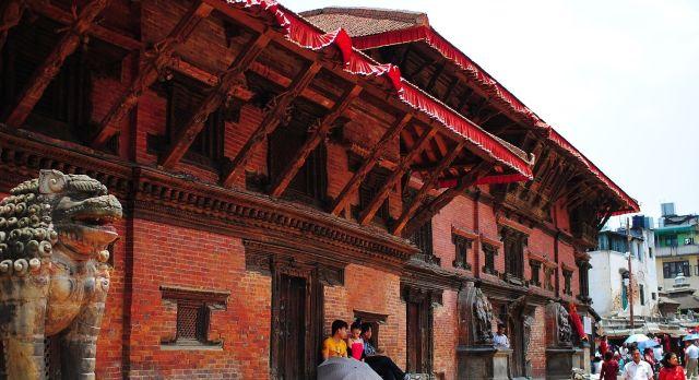 Gebäude in Patan