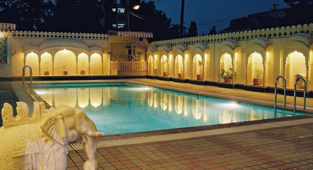 Pool at Shahpura House Jaipur, North India