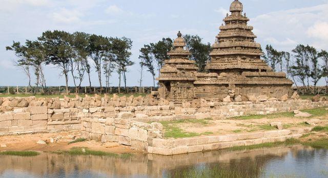 Tempel in Mamallapuram